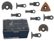 Bosch Sägeblatt Set Starlock Plus 10-teilig + Box GOP Zubehör 10 Teile