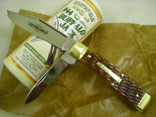 Great Eastern Cutlery Northfield #441218 Buffalo Jack, Gold Jigged Bone, USA