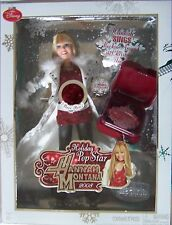 2008 Hannah Montana Christmas Holiday Singing Doll Miley Cyrus Jaks Nrfb