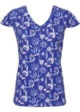 Schön bedrucktes Shirt mit kurzen Ärmeln Gr.32/34