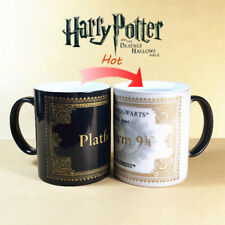 Harry Potter Color Changing Coffee Mug Platform 9 & 3/4 Train Ticket Heat Change