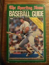 1989 SPORTING NEWS BASEBALL GUIDE JOSE CANSECO OAKLAND A'S