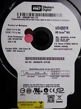 Western Digital WD4000YR-01PLB0  DMC: HCHCAJAH | 05 JUL 2006 - for data recovery