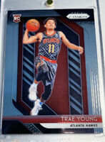 2018-19 Panini Prizm Base Trae Young Rookie RC Atlanta Hawks card Invest PSA/BGS