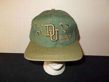 VTG-1990s Ducks Unlimited hunting conservation Ely Minnesota strapback hat sku4