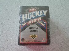 1990-1991 UPPER DECK HIGH NUMBER HOCKEY SET