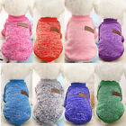 Pet Dog Jacket Winter Clothes Puppy Cat Sweater Clothing Coat Apparel knitwear