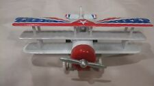 Classic Air Aerobatic Plane Sky Masters In A White Small Scale Diecast     dc885