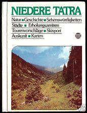 Hochmuth, Zdenko; Niedere Tatra, Touristenführer, 1983