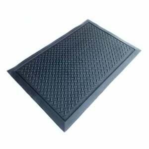 Heavy Duty Anti Fatigue Mat Rubber Safety Mat Flooring Diamond 600mmx900mm