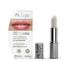 Trattamento Volumizzante Labbra Xlent 3 acidi ialuronici - 4,2ml -Lepo