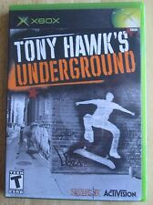 Tony Hawk's Underground (Microsoft Xbox, 2003)  Great Condition