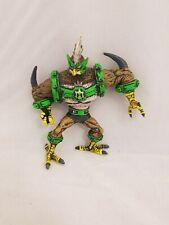 "Ben 10 Ultimate Alien Omniverse HyperAlien Kicken Hawk Figure Bandai 5.5"""