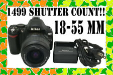 Nikon D40X 10.2MP with 18-55mm Lens SHUTTER COUNT 1499