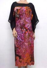 NWT Citron Santa Monica Printed Silk Kimono Dress - M - C66870617