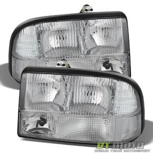 1998-2004 GMC Sonoma S15 98-01 Jimmy Bravada Headlights Fog Bumper Parking Lamps