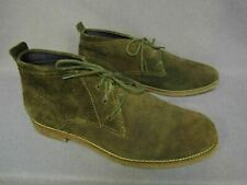 Cole Haan Hunter Green Nubuck Suede Mens Lace Chukka Ankle Boots 11.5 M