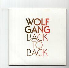 (JA120) Wolf Gang, Back To Back - 2011 DJ CD