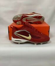 Nike Air Zoom 5-Tool Low Cleats Red/White 10.5 311806