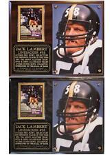 012a48cd Jack Lambert #58 Pittsburgh Steelers Legend Photo Card Plaque NFL SB  Champions