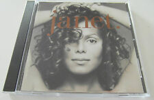 Janet -  (CD Album 1993) Used Very Good