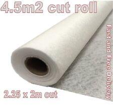 4.5m2 Fleece Membrane - Soakaway Wrapping Barrier - Weed Prevention - Terram