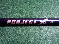 """TAYLORMADE R11S PROJECT X 5.0 A FLEX SHAFT! 44"""" to TIP!! GOOD!!"""