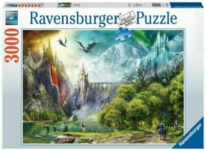 Ravensburger - Reign of Dragons 3000pc Jigsaw Puzzle
