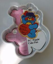"Wilton Cake Pan ""P.C. Popple""  Vintage 1985  #2105-2060 Used Once w/Instructions"