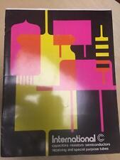 International Components Corp Catalog ~ Electrolytic Capacitors Resistors
