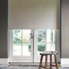 "Cocoon Cut-to-Width Beige Fabric Blackout Cordless Roller Shade - 36"" x 72"""