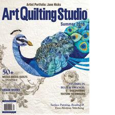 Art Quilting Studio Magazine by Stampington Summer 2018