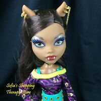 Monster High Clawdeen Wolf Schools Out RARE Doll Outfit and Boots Lot