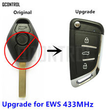 Modified Flip Remote Key for BMW 1/3/5/7 Series X3 X5 Z3 Z4 for EWS System 433M