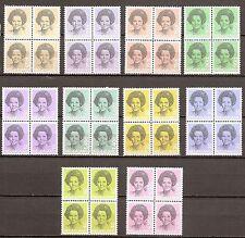 Nederland - 1981 - Div. uit NVPH 1237-52 in blok van 4 - Postfris - NE093