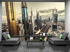 City Skyline Wall Mural Photo Wallpaper GIANT DECOR Paper Poster Free Paste