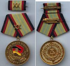 DDR Medaille f. treue Dienste i.d. Grenztruppen Gold XX