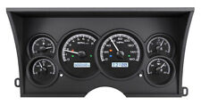 1988-94 Chevy GMC C/K 1500 2500 Dakota Digital Black Alloy / White Gauge Kit