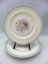 "Johnson Bros. Windsor Ware - set/lot of 2 vintage Dinner plates - 10"", VGC"