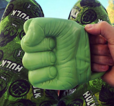 Official Marvel Avengers Hulk Fist Shaped 3D Ceramic Coffee Mug - Boxed