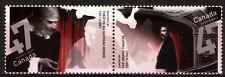 Canada 2001 Sc1920a  Mi2011-12 2.00 MiEu  1 Pair  mnh  Theater Anniversaries