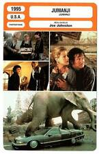 FICHE CINEMA : JUMANJI - Williams,DunstHunt,Johnston 1995
