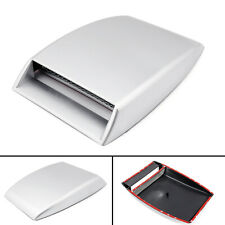 Car Decorative/Functional Air Flow Intake Scoop Turbo Bonnet Vent Cover Hood SIL