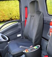 Isuzu N75 Truck Waterproof Leatherette Tailored Seat Covers Tipper 7.5 easyshift