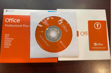 Office Professional Plus 2016 For Windows 1PC Retail DVD New Sealed Box