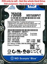 PCB 2060-771692-005 - Western Digital WD7500BPVT - WD7500BPVT-80HXZT1 - 750Go