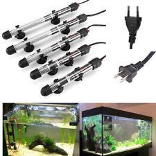 25W - 300W Submersible Heater Heating Rod Aquarium Glass Fish Tank US/EU Plug