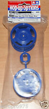 Tamiya 54682 Buggy Rear Star-Dish Wheels (Blue) (Top Force/DF02/*53086), NIP