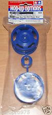 Tamiya 54682 Buggy Rear Star-Dish Wheels (Blue) (Top Force/DF02/*53086), NIP