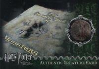 Harry Potter Prisoner Azkaban Update Monster Book Prop Card HP #088/310